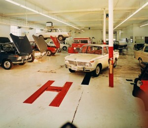 This is the service area from my Father's BMW/Mercedes dealership just west of Minneapolis. It was taken in the mid-1960's.