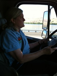 Mary Driving RV