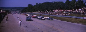 Here's the start of the 500 mile race at Road America. Can you guess the year?