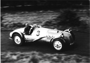 Willis reworked the suspension, changed to hydraulic brakes with alloy drums to go along with the lightweight body. The car now weighed 1100 lbs. Willis achieved a 2nd in class at the Prescott Hillclimb in September, 1949 with a time of 52.12 seconds.