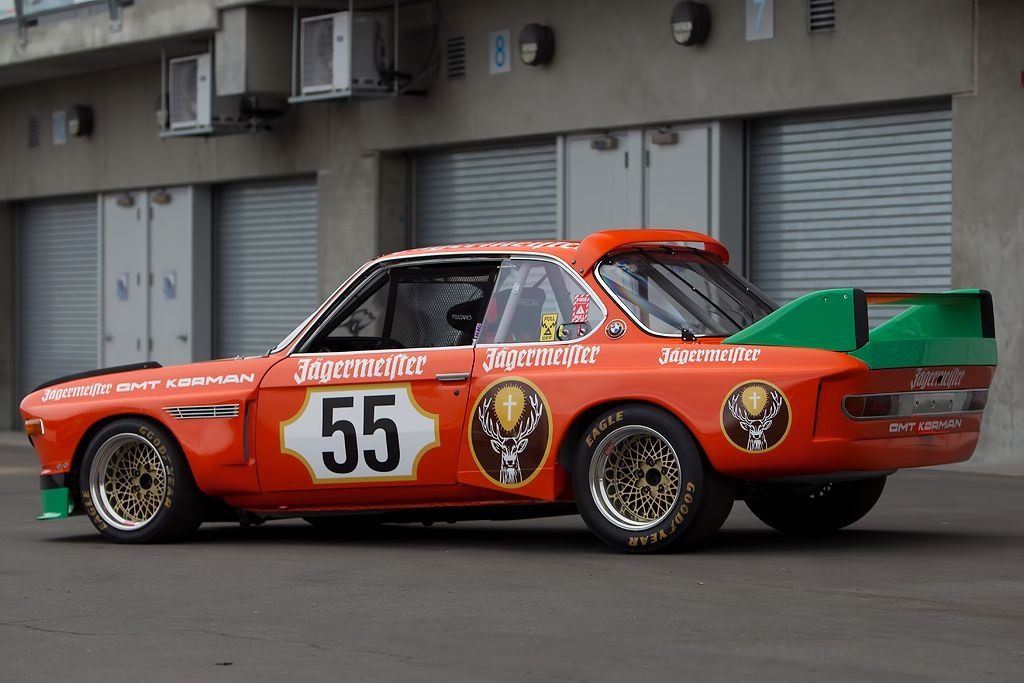 For Sale- 1973 BMW CSL Jagermeister Vintage Racer | msportvintage.com