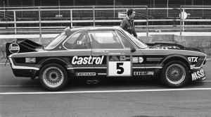 Luigi chasis 001 at the 1976 Tourist Trophy race at Silverstone.
