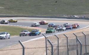 Here's the grid from Saturday's race. Looks like a vintage 2.5 Challenge grid from 1971.