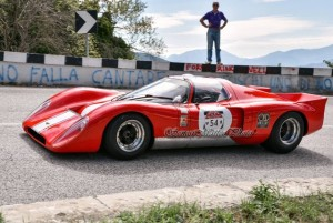 "My newest race car, a 1970 Chevron B16 named ""Dorthy."""