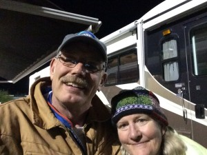 Mary and I late Saturday night after one of my stints. Her help and support was invaluable.