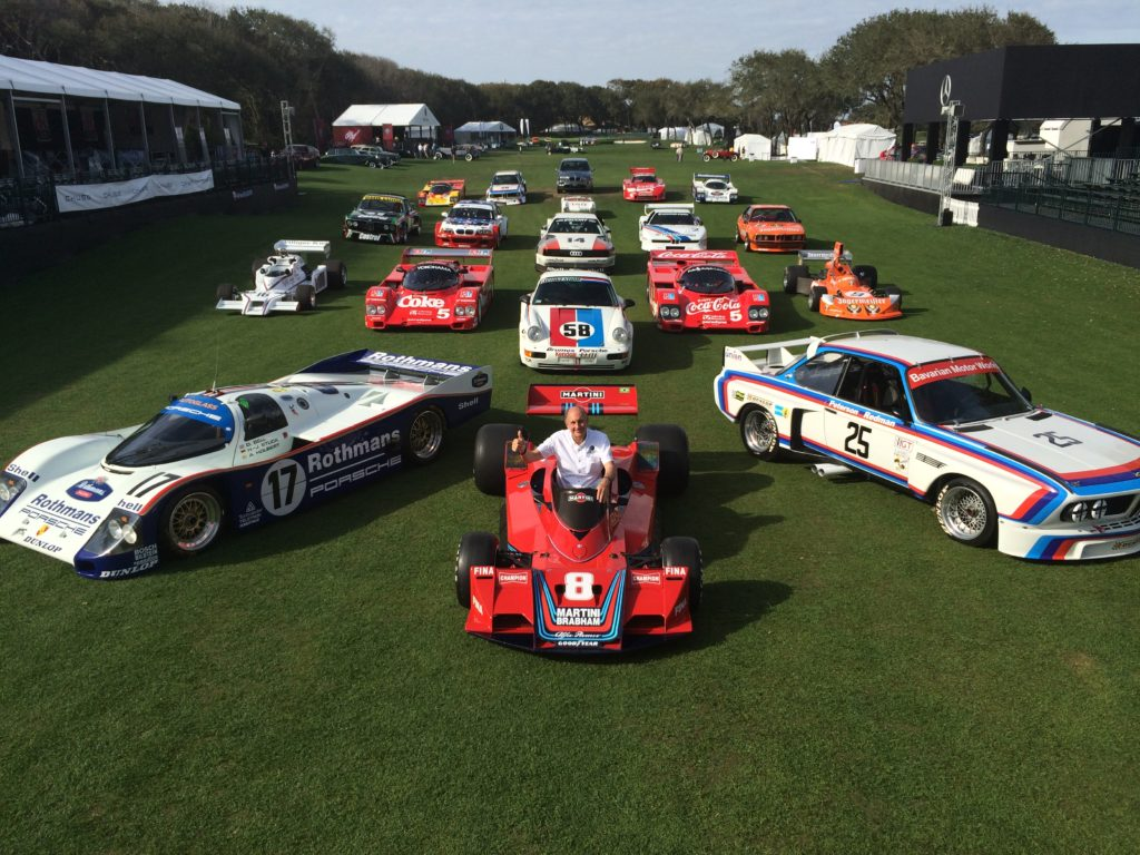 Luigi was a part of the official event photo honoring Hans Stuck's great racing career.